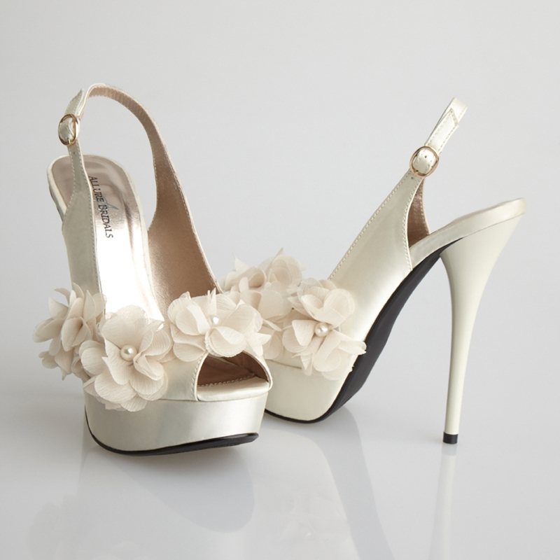 Glass, Allure Bridals Footwear